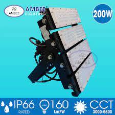 Đèn Led Công Nghiệp| Đèn Led Pha TD05 200W Cao Cấp