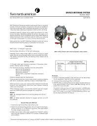 Orifice Metering System Manualzz Com