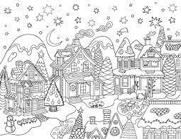 The colouring pages you will find as you delve through the site have been created for activity village over the years in a variety of styles and to appeal to a wide range. Easy Printable Cute Christmas Coloring Pages Village