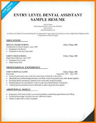 Sample Cover Letter For Entry Level 6 Entry Level Dental Assistant Cover Letter Business