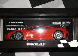 mclaren mp4 12c gt3 special edition. minichamps 118 model mclaren mp412c gt3 street car red limited edition 1002 mp4 12c and special