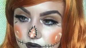 31 days of halloween day 14 easy scarecrow makeup tutorial