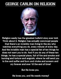 Political Memes: George Carlin On Religion via Relatably.com