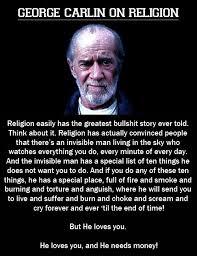 Political Memes: George Carlin On Religion via Relatably.com
