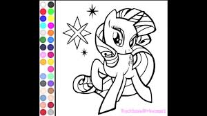 Small Picture My Little Pony Coloring Games Online For Kids Free YouTube