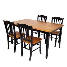 5 piece dining table 5 piece glass dining table set 4 leather chairs kitchen furniture
