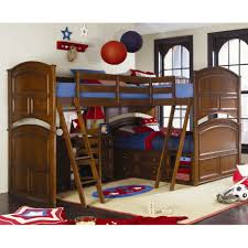 Bedroom:Amazing Blue Bunk Bed Color Ideas For Boys Decoration Colorful  Triple Bunk Beds With