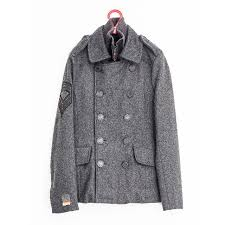 superdry classic pea coat jacket men reserved for jedi 69 men s fashion on carou