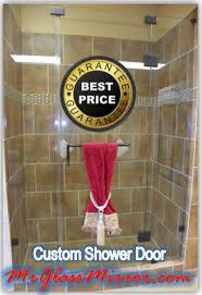 custom shower doors houston frameless custom shower doors houston