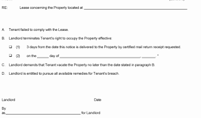 Free Eviction Notices Templates Eviction Notice Template Fresh Free Eviction Notices Templates