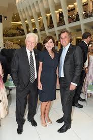 Peter Lowy, Sandra Barros at Johnson Hartig: for Libertine x Schumacher  Launch / id : 3871125 by Ben Rosser/BFA.com
