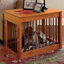 wooden dog crate furniture. Furniture Dog Kennels Wooden Crate