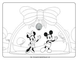 Mickey Mouse Clubhouse Coloring Pages Pdf Printable Sheets Halloween