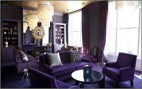 Purple Living Room Chairs The Incredible Purple Living Room Furniture With Regard To Provide