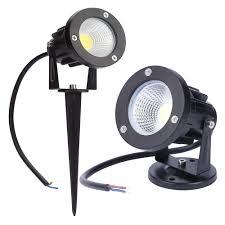 Us 5 27 39 Off 12v Outdoor Garden Lamp Led Lawn Light 3w 5w 7w 9w Cob Led Spike Lamp Waterproof Ip65 Pond Path Landscape Spot Lights Bulbs In Led