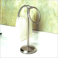 hand towel stand.  Hand Hand Towel Stand S Polished Chrome   Intended Hand Towel Stand A