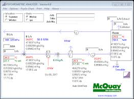 Psychrometric Chart Software Free Download Download Mcquay Psychrometric Analyzer Psychrometric Chart