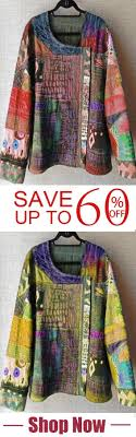 <b>Plus Size U</b>-<b>Neck</b> Abstract Blouses | Casual tops for women ...