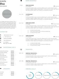 Infographic Resume Templates Resume Free Templates Find Resume 1