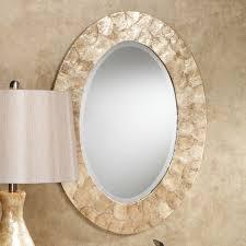 Bathroom Mirrors View Small Oval Bathroom Mirrors Nice Home