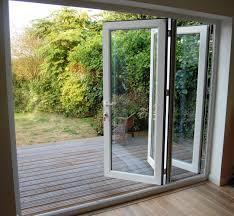Contemporary Andersen Folding Patio Doors Door In Closed Position