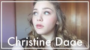 christine daaé makeup tutorial
