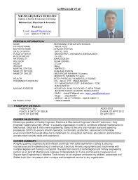 Maintenance Engineer Resume Pdf Electrical Maintenance Engineer