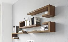 Small Picture Wall mounted shelf contemporary wooden SEATTLE calligaris