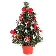 christmas trees decorated in red and silver. Interesting Silver Wingbind Small Christmas Desk Tree GoldenBlueRedSilver Tree  For To Trees Decorated In Red And Silver T