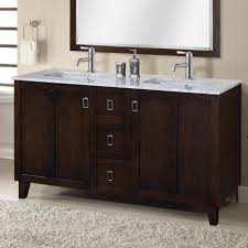 wood bathroom vanity double sink cabinets