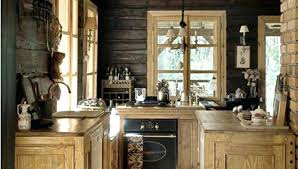 cabin kitchen design. Plain Cabin Rustic Cabin Kitchen Kitchens Nicely Decorated Homes  Decor Small  With Cabin Kitchen Design