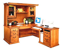 l shaped desk with hutch home office modern traditional home office furniture of brown