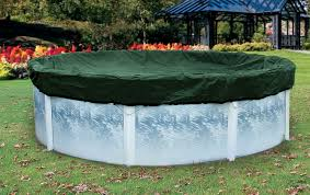 above ground pool winter covers. Round Skirted Winter Covers Green/Black Above Ground Pool Winter Covers