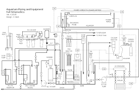 reef tank construction drawingsdiagram  general plumbing and piping