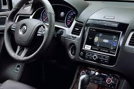 Volkswagen Touareg interior gallery. MoiBibiki #10