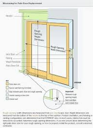 andersen series patio door rough opening in most luxury home design your own c66e with andersen
