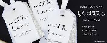 Free Printable Favor Tags Instructions Templates To Make Your Own Wedding Favor Tags