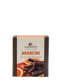 Gardini Scorza Di Arancia Ricoperta Di Cioccolato Fondente gr 150