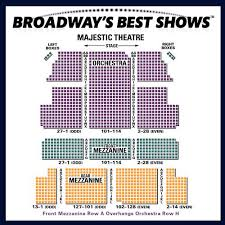 Majestic Theatre New York City Seating Chart The Majestic Seating Chart Majestic Theatre Nyc Interactive