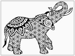 Realistic Elephant Coloring Pages At Getcoloringscom Free