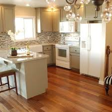 Small Picture Kitchens With White Appliances And Oak Cabinets Intended Ideas