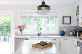 kitchen with half height backsplash view full size