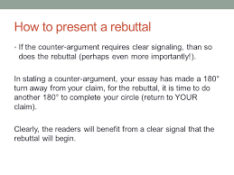 academic writing i th academic writing i th ppt  how to present a rebuttal