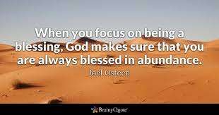 Blessing Quotes BrainyQuote Amazing Blessings Quotes