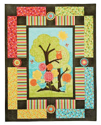 63 best Quilts - panels images on Pinterest | Cards, Crafts and ... & Owl Quilt Panel Kit Adamdwight.com