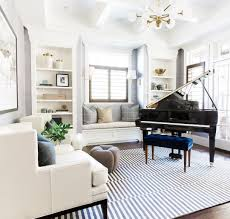 modern traditional living rooms. Brilliant Rooms Piano Room With A Modern Traditional Mix  Studio McGee Inside Living Rooms R