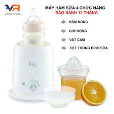 Máy hâm sữa Fatz 4 chức năng, Hâm nóng, giữ nóng, tiệt trùng bình sữa, vắt  cam,Fatz baby giá cạnh tranh
