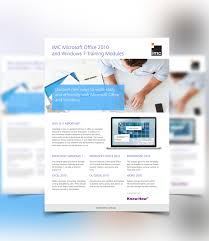 flyers for imc e learning on behance
