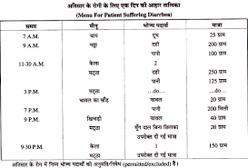 Diet Plan For Diarrhea In Hindi Home Science