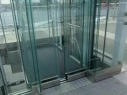 kone glass hydraulic elevator puerte
